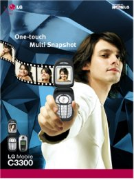LG Mobile Phone Ad - White  Jacket