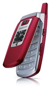red Samsung A411